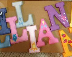 My little pony wooden letters