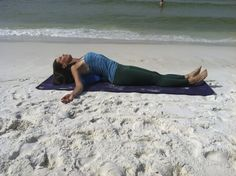 #Heal kyphosis and #backpain with supported fish #yogapose: