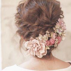 antique pink * ヘッドドレス もっと見る