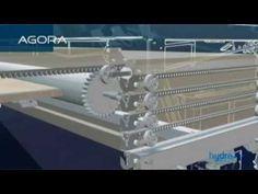 Couverture de piscine escamotable AGORA par Hydra systeme - YouTube