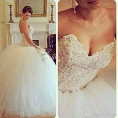 2015 Luxury Ball Gown Wedding Dresses Tulle With Appliques Bead Cystal Bow Strapless Lace Up Floor Length Sweep Train Bridal Dresses Gown Ball Gown Wedding Dresses 2016 Strapless Dress Backless Floor Length Bridal Gowns Online with $246.47/Piece on Yahuifang2016's Store | DHgate.com