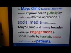 #SocialAtMayo - Mayo Clinics Social Media Guidelines - YouTube