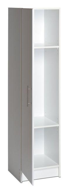 Amazon.com   Prepac Elite Collection 16 Inch Broom Cabinet   Cabinet And  Furniture