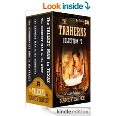 Amazon.com: The Traherns, Collection # 2 of Western Historical Novellas eBook by Nancy Radke. Follows the Trahern family through history, up until WW2. http://www.amazon.com/Traherns-Collection-Western-HIstorical-Novellas-ebook/dp/B00H0K5I14/ref=sr_1_9?s=digital-text&ie=UTF8&qid=1392997200&sr=1-9&keywords=trahern+series