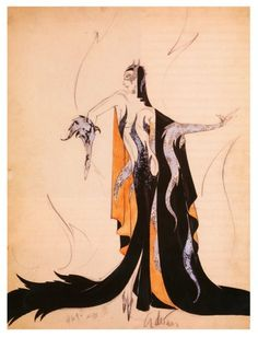 Costume for Madame Satan by Adrian, 1930