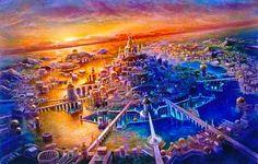 Romania Megalitica: Atlantida. Povestea continentul pierdut. Terra, Planeta unor Civilizatii misterioase! UPDATE. Important