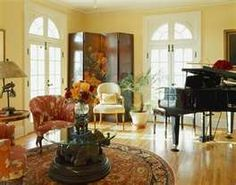 rooms with pianos