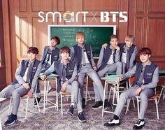 160415 || #CFxBTS #SMARTxBTS *-*  - #BTS para SMART ( marca de uniforme )