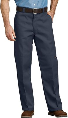 GRMO Men Loose Workwear Wrinkle-Free Straight Casual Pants