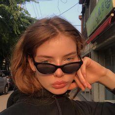 Best Pretty Part 4 Round Lens Sunglasses, Cute Sunglasses, Cat Eye Sunglasses, Sunnies, Sunglasses Women, Vintage Sunglasses, Womens Fashion Online, Latest Fashion For Women, Cat Eye Colors
