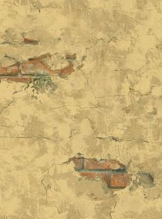 Wallpaper Distressed Plaster Wall with by WallpaperYourWorld, $6.99