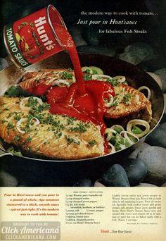Fish steaks, Hunts-style-recipe-1961