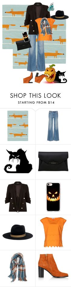 """""""OOTD - Angry Pumpkin"""" by petalp ❤ liked on Polyvore featuring Scion, Alexander Wang, Givenchy, River Island, Casetify, Janessa Leone, Moschino Cheap & Chic, La Fiorentina, Chloé and ootd"""