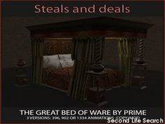 PrimBay - The Great Bed of Ware Diamond Edition (CMnt) - by PRIME