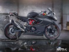 A new rendering of the road-going version of the TVS Akula 310 has emerged online. The super-sport model is expected to be launched within this year. Ktm Rc, Motorcycle Wallpaper, Motorcycle Photography, Cartoons Love, Sports Models, Car Illustration, Free Hd Wallpapers, Super Sport, Bike Design