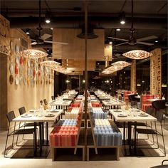 Lah Restaurant, Madrid, 2011 - ILMIODESIGN