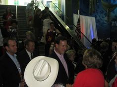 Sen. Santorum, one of the honorees at the Treasure Life event.