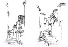 224 Best Architectural Sketches images
