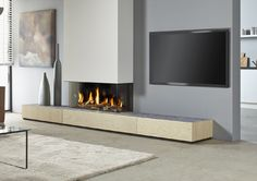 Metro 100XT/3 Gas Fires | The Fireplace Company