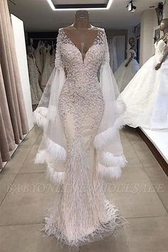 Babyonlinewholesale Offers New Luxurious Mermaid V Neck Long Sleeves Crystal Floor Length Prom Dresses With Tassels Cheap Beading Evening Gowns At Cheap Prices. It Is A Gorgeous Column Evening Dresses In Tulle,Lace, Which Meets All Your Requirement. V Neck Prom Dresses, Prom Dresses Online, Mermaid Prom Dresses, Bridal Dresses, Evening Dresses, Girls Dresses, Bridesmaid Dresses, Afternoon Dresses, Flapper Dresses