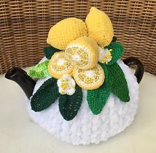 NEW  Handmade Tea Cozy Lemon Paradise From Ukrainian Designer