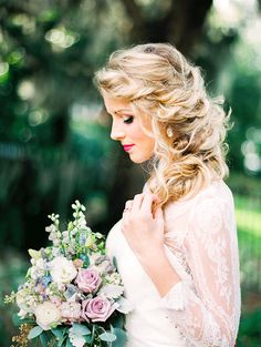 Lovely romantic bridal portrait