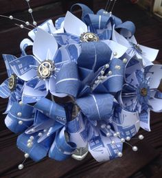 Doctor Who Wedding Bouquet - The Supermums Craft Fair