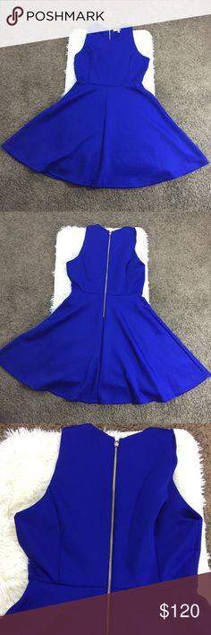 NWOT Milly for Design Nation Royal Blue Dress New without tags Milly Dresses Midi