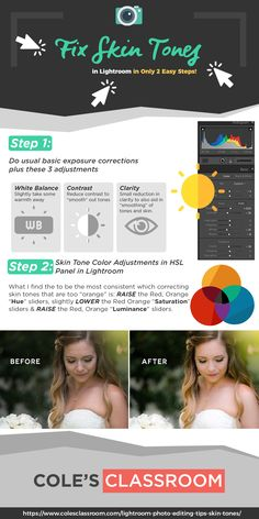 Lightroom Photo Editing Tips: Learn how to quickly and effectively adjust unnatural skin tones within seconds as I let you in on one of my best kept secrets