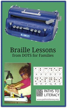 These braille lessons are designed to help families and others to learn the basic literary braille code.