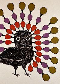 Artist and printmaker Kenojuak Ashevak, known for her astounding bird illustrations, has passed away at 85 Owl Pics, Owl Pictures, Inuit Art, Native American Artists, Canadian Art, Art Programs, Bird Illustration, Owl Art, Drawing Board