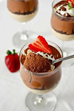 Mousse, Some Fun, Panna Cotta, Cooking Recipes, Pudding, Ethnic Recipes, Sweet, Desserts, Drink
