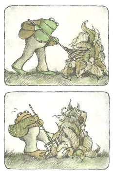 "Arnold Lobel's ""Frog and Toad"" - Meme Engine"