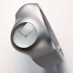 Industrial designer Ross Lovegrove has created a watch for Japanese fashion designer Issey Miyake.