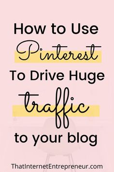 Do you want to learn how to use Pinterest to drive traffic to your blog? In this post, I've explained how to increase your blog traffic with Pinterest. These are simple Pinterest tips that will help you grow your blog traffic. #blogtrafficfrompinterest #pinteresttips #Pinterestforbloggers Online Marketing, Social Media Marketing, Digital Marketing, Blog Topics, Selling On Pinterest, Pinterest For Business, Blogging For Beginners, Pinterest Marketing, How To Start A Blog