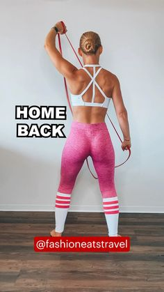 Back Fat Workout, Butt Workout, Belly Fat Workout, Gym Workouts, At Home Workouts, Cellulite Workout, Band Workouts, Cellulite Exercises, Back Exercises