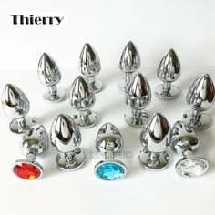 Cheap stainless steel anal plug, Buy Quality butt plug directly from China anal butt plug Suppliers: Thierry real photo Metal Anal Butt Plug Stainless Steel Anal Plug Erotic sex toys for Adults games Sex Products For women Adult Games, Cool Toys, Red Roses, Plugs, Erotic, Stainless Steel, T Shirts For Women, Jewels, Crystals