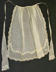 1830's apron
