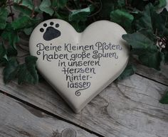 Tiergedenkstein,Hund, Katze, Gedenkstein, Name - Katzen - Dog Tattoos, Animal Tattoos, Cat Memorial Stones, Dog Memorial, Pet Dogs, Dog Cat, Diy Dog Collar, Dog Collars, Gatos Cats