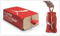 Ce packaging original et inédit illustre le concept