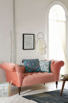 South Shore Decorating Blog: Color Me Happy (Pops of Coral Colored Cheer)