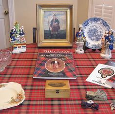 ode to Scotland from Tablescape Times Three blog