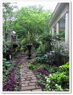Rustic pathways.  Continuing the Garden2Blog Experience With P. Allen Smith