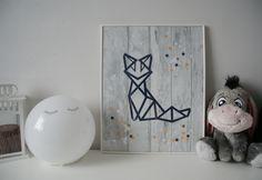 Créer un joli cadre illustré façon origami - Les Lubies de Caroline