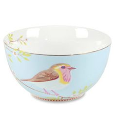 Early Bird Blue Bowl Set of 6 PIP51003008