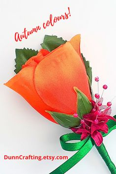 The autumn season's colours are stunning and this orange flower pin fits right in! A wonderful rich colour, offset by the plum baby's breath flowers. Orange Wedding Themes, Burnt Orange Weddings, Sweet Wedding Favors, Free Wedding, Wedding Ideas, Flower Girl Headbands, Welcome To Our Wedding, Rustic Wedding Flowers, Wedding Flower Inspiration