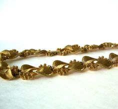 Items similar to Vintage Napier Choker Necklace with Floral Vine Leaves Berries Gold Leaf theme on Etsy Vintage Brooches, Vintage Earrings, Vintage Jewelry, Vintage Signs, Vintage Items, Team Gifts, Vine Leaves, Chokers, Bangles