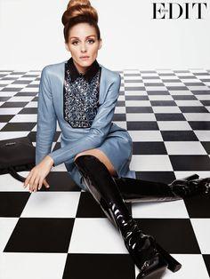 The Olivia Palermo Lookbook : Olivia Palermo for The Edit