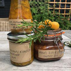 Anna's home-made Plum & Lemon Chutney and Plum, Rosemary & Vanilla Marmalade 2019 - how to make it! #SpotlightSunday #homemade