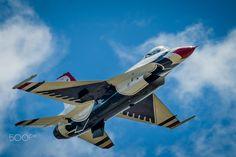 USAF Thunderbirds 07 - The USAF Thunderbirds aerial demonstration team performs in Colorado Springs, Colorado.